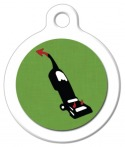 image: Vacuum is Satan Pet ID Tag