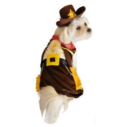 Dog Halloween Costume Cowboy