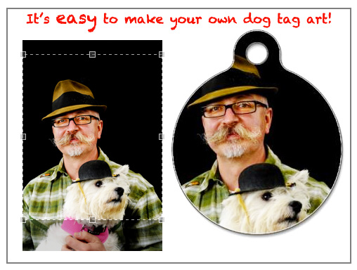 Custom Pet Tag Example