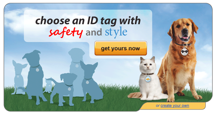 Image: Choose Dog Tag Art ID Tags