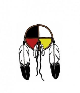 Lakota Medicine Wheel Dog Tag By Dog Tag Art