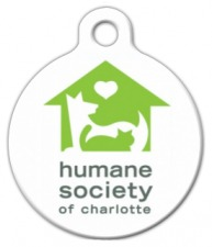 Humane Society of Charlotte ID Tag