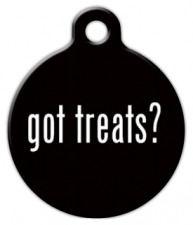Got Treats? Pet Tag