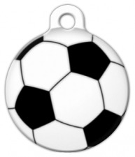 Soccer Ball Pet ID Tag