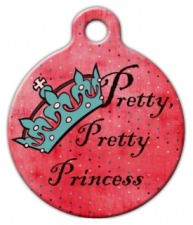 Pretty Pretty Princess Pet ID Tag