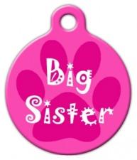 Big Sister Pet ID Tag