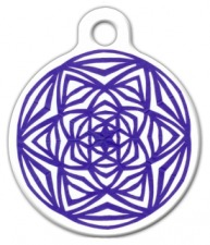 Celtic Starburst Dog Tag for Dogs