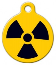 Radiation Pet ID Tag