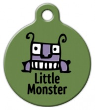 Little Monster Pet ID Tag