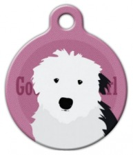 Good Girl Old English Sheepdog