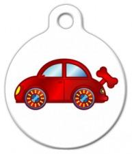 Wind Up Toy Car Dog Identity Tag