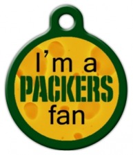 Packers Fan Custom ID Tag