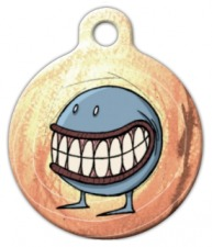 Smiler Dog ID Tag