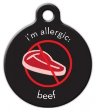 Beef Allergy Tag