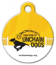 Coalition to Unchain Dogs ID Tag