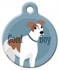 Good Boy Greyhound Dog ID Tag