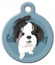Good Boy Shih Tzu Dog ID Tag