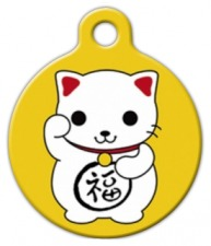 Maneki Neko Cat Tag