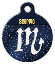 Scorpio Symbol Pet ID Tag