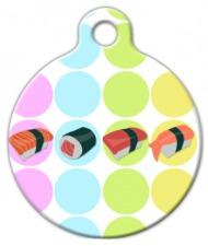 Sushi Pet ID Tag