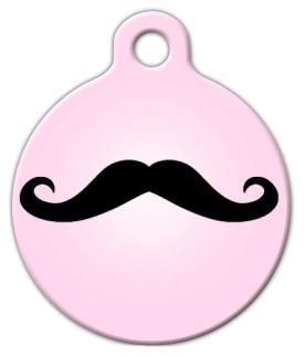 Pink Mustache