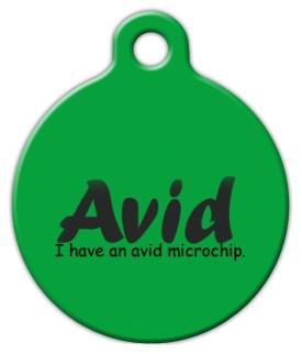 Avid dog tag by dog tag art for Avid dog