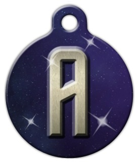 Trek Monogram A-Z Pet ID Tag