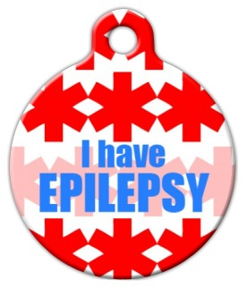 I Have Epilepsy Pet ID Tag