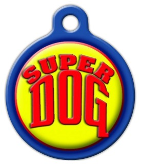 Super Dog Pet ID Tag