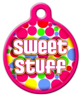 Sweet Stuff Pet Tag
