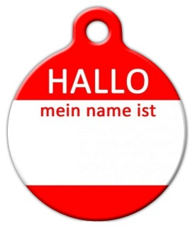 how to say my name is in german