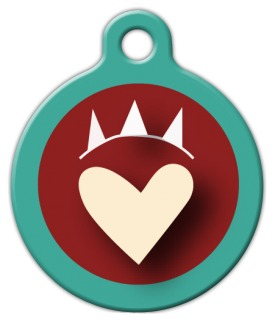 Dog Luv Pet ID Tag