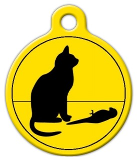 Bad Cat, Poor Bird Cat ID Tag