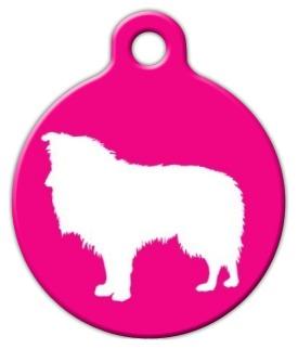Shetland Sheepdog Pet Tag