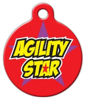 Agility Star Dog Tag for Dogs