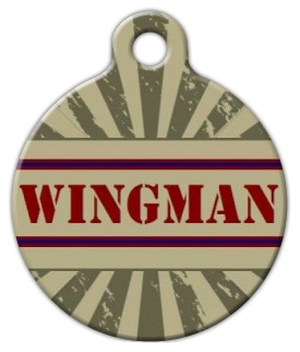 Wingman Dog ID Tag