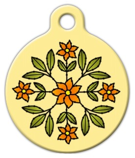 Floral Design Identification Tag