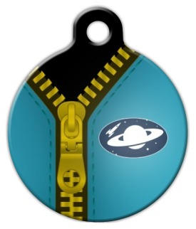 Spaceman Suit Pet ID Tag