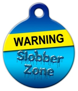 Slobber Zone Pet ID Tag