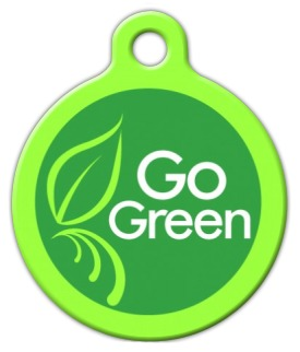 Go Green Pet ID Tag