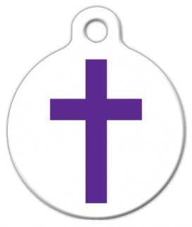Christian Cross ID Tag