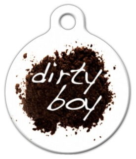 Dirty Boy Dog ID Tag