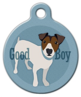 Good Boy Jack Russel Terrier Dog ID Tag