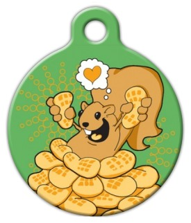 Love the squirrel! Pet ID Tag