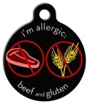 image: Beef and Gluten Medical Alert Jewelry