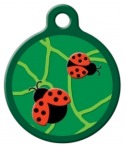 image: Beetlemania Lupine Pattern Dog ID Tag