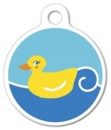 [image] Just Ducky Pet Collar Tag