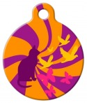 image: Psychedelic Cat Tag