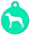 image: Ridgeback Silhouette Pet ID Tag