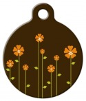 image: Retro Garden Pet Tag